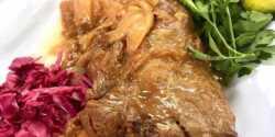 طرز تهیه چلو گوشت زعفرانی خوشمزه و مجلسی بدون رب گوجه