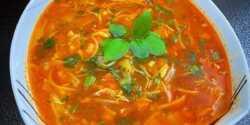 طرز تهیه سوپ ورمیشل خوشمزه و مجلسی به روش رستورانی