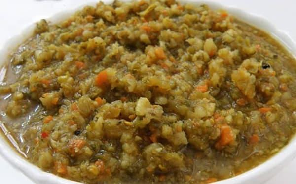 طرز تهیه ترشی لیته بندری شمالی خیلی خوشمزه چرخ شده ادویه ترشی لیته بادمجان بادمجان کبابی