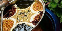 طرز تهیه آش بادمجان خوشمزه و مجلسی با گوشت و بدون گوشت