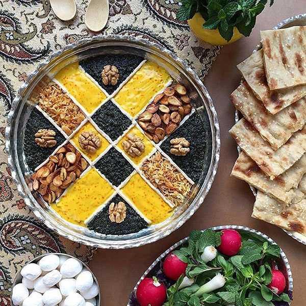 طرز تهیه حلیم بادمجان شیرازی مجلسی اصفهانی ها با گندم شمالی تصویری با لوبیا سفید با سیرابی با گوشت چرخ کرده شف طیبه با برنج