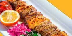 طرز تهیه کباب بختیاری اصیل رستورانی با گوشت و مرغ