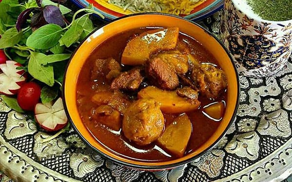 طرز تهیه خورش به آلو با گوشت چرخ کرده , خورش به آلو با رب انار چاشنی , خورش به آلو کرمان با مرغ , xvc jidi o va fi Hg