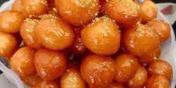 طرز تهیه شیرینی لگیمات خوشمزه و مخصوص به روش بوشهری
