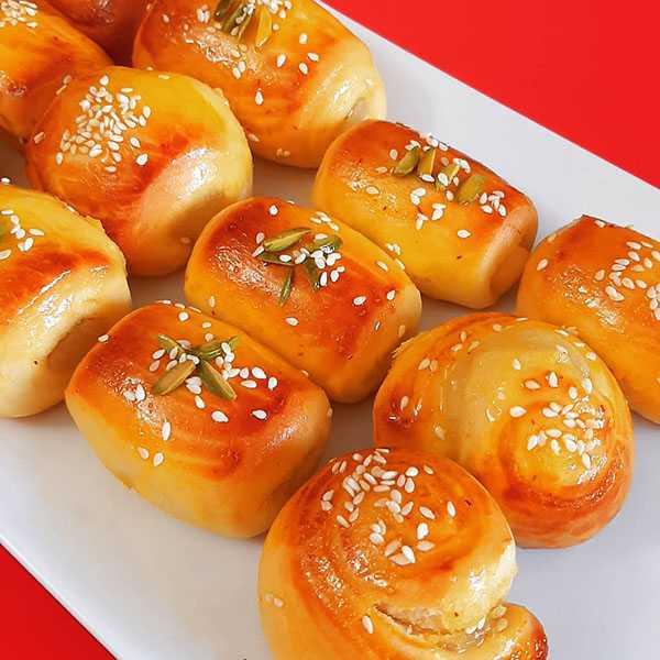 طرز تهیه شیرینی دانمارکی در ماکروفر خانم گلاور دونفره سوران با ماست کرم در خانه قنادیها بدون خمیر مایه اصل انواع