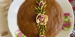 طرز تهیه شله خرمایی با شیره خرما و آرد گندم به روش بوشهری