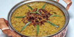 طرز تهیه آش سبزی خوشمزه و کشدار به روش سنتی شیرازی
