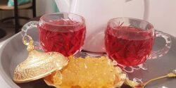 طرز تهیه چای آلبالو خانگی خوشمزه و طبیعی در منزل