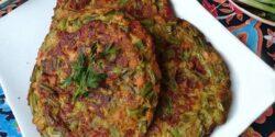 طرز تهیه کوکو لوبیا سبز ساده و فوق العاده خوشمزه تبریزی