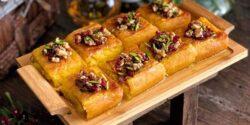 طرز تهیه کوکو شیرین خوشمزه مشهدی به روش رستورانی