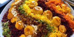 طرز تهیه مرصع پلو خوشمزه و مجلسی به روش رستورانی