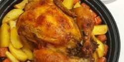 طرز تهیه مرغ شکم پر خوشمزه با فر ، ذغالی و در دیگ یا قابلمه
