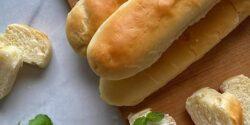 طرز تهیه نان باگت حرفه ای خانگی و خوشمزه با فر و بدون فر