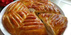 طرز تهیه نان مغزدار خرما و گردو خوشمزه به روش ترکیه ای