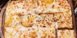 طرز تهیه نان سیر ساده و فوق العاده خوشمزه رستورانی
