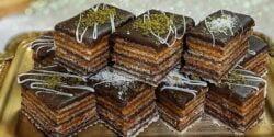 طرز تهیه شیرینی میکادو ساده خوشمزه و حرفه ای در منزل