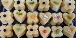 طرز تهیه شیرینی نخودچی بسیار فوری و خوشمزه در منزل