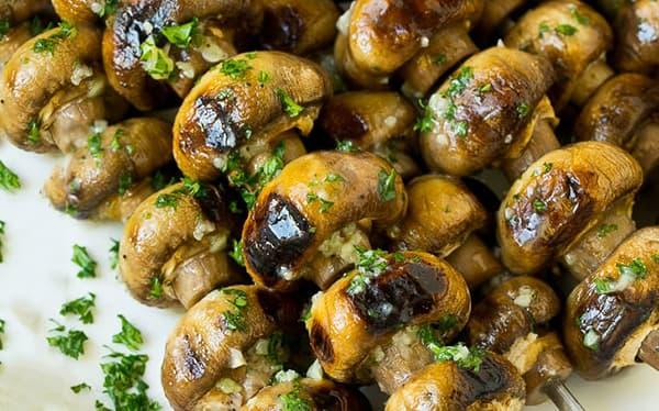 طرز تهیه قارچ کبابی رژیمی , طرز خواباندن قارچ کبابی , قارچ کبابی نی نی سایت , xvc jidi rhv fhfd