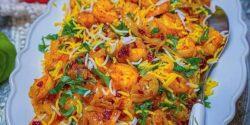 طرز تهیه میگو پلو خوشمزه و مجلسی به روش اصیل بوشهری