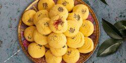 طرز تهیه شیرینی نان برنجی خوشمزه و خانگی اصیل با پیمانه