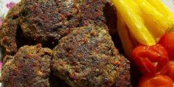 طرز تهیه شامی سبزی