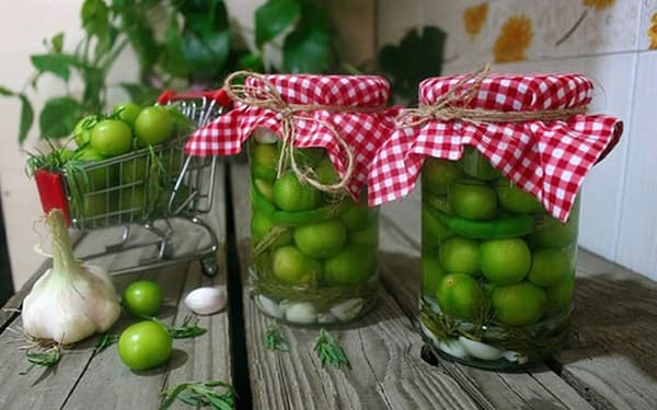 طرز تهیه ترشی گوجه سبز , ترشی گوجه سبز با رب انار , xvc jidi jvad  i sfc