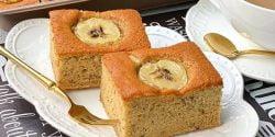 طرز تهیه کیک موز خوشمزه و مخصوص مغزدار به روش قنادی