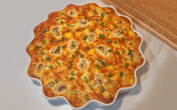 طرز تهیه گراتن پاستا با مرغ و قارچ خوشمزه بدون فر بدون سس بشامل با سوسیس و سیب زمینی xvc jidi vhjk hsjh
