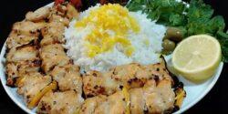 طرز تهیه جوجه کباب لاری ماستی خوشمزه و مخصوص رستورانی