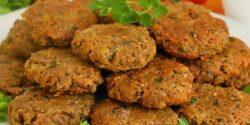 طرز تهیه کوکو عدس خوشمزه و مجلسی به روش سنتی ترکیه ای