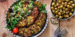 طرز تهیه کوکو اسفناج مجلسی و خوشمزه به روش سنتی رشتی