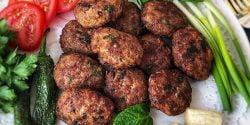 طرز تهیه کتلت قبرسی شامی کباب غذاهای قبرسی خوشمزه xvc jidi jgj rfvsd
