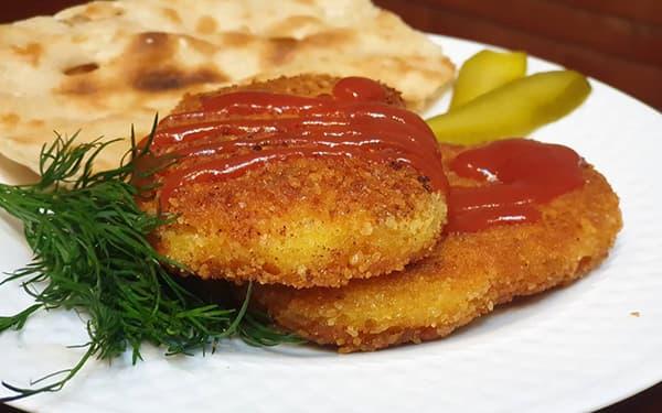 طرز تهیه کتلت سیب زمینیو گوشت چرخ کردهلاهیجانشیرازی سوخاریدر فرخامبدون گوشت بازاری xvc jidi ;jgj sdf cldkd