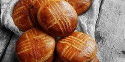 طرز تهیه نان اهری خوشمزه و مخصوص به روش سنتی آذربایجان