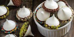 طرز تهیه شیرینی پفکی مرنگ خوشمزه به روش فرانسوی بدون فر