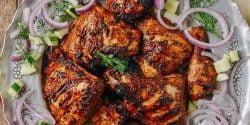 طرز تهیه جوجه کباب تندوری خوشمره و مخصوص به روش هندی