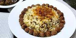 طرز تهیه ماش پلو خوشمزه و مجلسی به روش اصیل ایرانی
