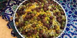 طرز تهیه نخود پلو خوشمزه و مجلسی به روش اصلی ترکیه ای