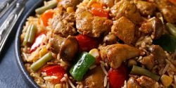 طرز تهیه پلو مراکشی خوشمزه و مخصوص به روش رستورانی