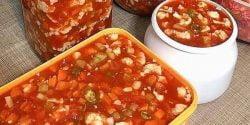 طرز تهیه ترشی گوجه فرنگی خوشمزه و مجلسی به روش مشهدی