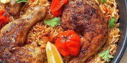 طرز تهیه کبسه مرغ خوشمزه و مخصوص عربی به روش رستورانی