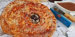 طرز تهیه نان ازبکستانی خانگی مخصوص و خوشمزه برای صبحانه