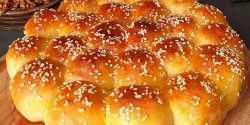 طرز تهیه نان کندو خوشمزه و مخصوص به شکل لانه زنبور