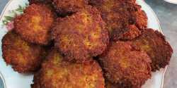 طرز تهیه شامی کباب اقتصادی و خوشمزه با سنگدان مرغ
