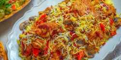 طرز تهیه قاطی پلو با مرغ خوشمزه و مخصوص به روش رستورانی