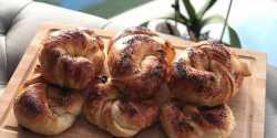 طرز تهیه نان آچما خوشمزه و مخصوص به روش ترکیه ای