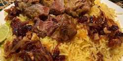طرز تهیه پلوی بحرینی غذاهای کشور بحرین با گوشت و مرغ