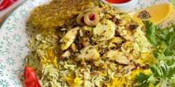 طرز تهیه دو پیازه ماهی خوشمزه و مخصوص به روش سنتی جنوبی