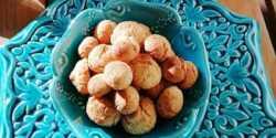 طرز تهیه شیرینی حاجی بادام خوشمزه و فوری به روش بازاری