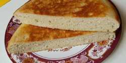 طرز تهیه نان تابه ای خوشمزه و خانگی به روش سنتی شمالی